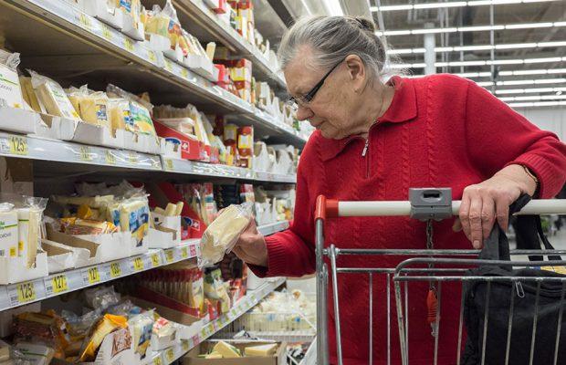 Российские продукты можно будет приобрести покарточкам
