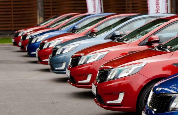 Русский  рынок автомобилей  завоевал 2-ое  место вевропейских странах