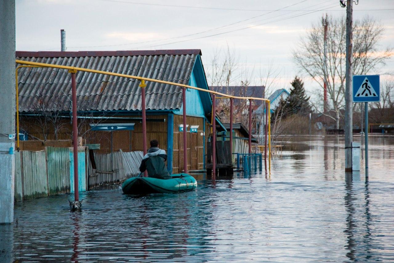паводок в Ишиме